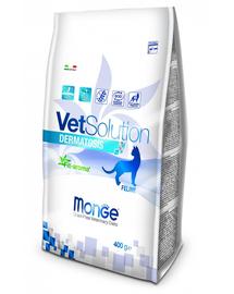 MONGE Vet Solution Cat Dermatosis, 400 g