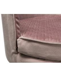 TRIXIE Canapea Livia pentru caini, culoare roz, 48 × 40 cm