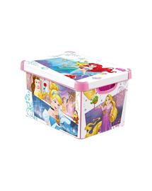 CURVER Deco Cutie depozitare cu capac Stockholm L Disney Princess
