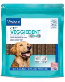 VIRBAC Veggiedent Fresh L (>30 kg) Recompense caini pentru igiena orala 15 buc.