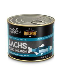 BELCANDO Single Protein hrana umeda pentru caini, cu somon, 200 g