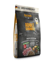 BELCANDO Adult Dinner hrana uscata pentru caini cu activitate normala, talie M-XL, 4 kg
