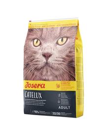 JOSERA Cat Catelux hrana uscata pisici adulte pretentioase 10 kg + 2 plicuri hrana umeda GRATIS