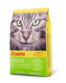 JOSERA SensiCat hrana uscata pentru pisici sensibile, carne de pasare 10 kg + 2 plicuri hrana umeda GRATIS