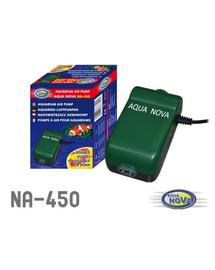 AQUA NOVA Pompa de aer pentru acvariu, capacitate 450l