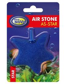AQUA NOVA piatra de aer AS-SHELL, forma stea, 55x70mm