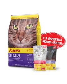 JOSERA Cat Culinesse hrana uscata pentru pisici adulte 10 kg + 2 plicuri hrana umeda GRATIS