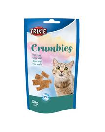 TRIXIE Crumbies Recompense cu malt pentru pisici 50 g