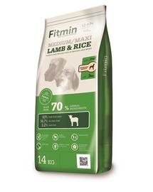 FITMIN Medium Maxi hrana uscata caini adulti talie medie, mare 14 kg + Dr PetCare MAX Biocide Collar zgarda protectie impotriva puricilor si a insectelor 75 cm GRATIS