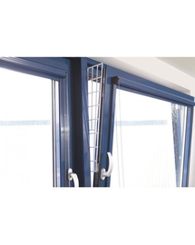 TRIXIE Grilaj de protectie pentru fereastra, panou lateral, 62 × 16/7 cm