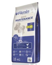 FITMIN Maxi Maintenance hrana uscata super-premium pentru caini adulti talie mare 15 kg + Dr PetCare MAX Biocide Collar zgarda protectie impotriva puricilor si a insectelor 75 cm GRATIS