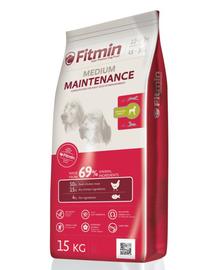 FITMIN Medium Maintenance hrana uscata premium pentru caini adulti 15 kg + Dr PetCare MAX Biocide Collar zgarda protectie impotriva puricilor si a insectelor 60 cm GRATIS