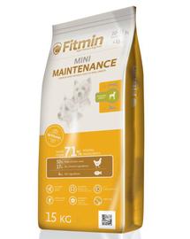 FITMIN Mini Maintenance hrana uscata caini adulti talie mica 15 kg + Dr PetCare MAX Biocide Collar zgarda protectie impotriva puricilor si insectelor 35 cm GRATIS