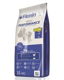 FITMIN Maxi Performance hrana uscata caini adulti talie mare 15 kg + Dr PetCare MAX Biocide Collar zgarda protectie impotriva puricilor si a insectelor 75 cm GRATIS