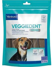 VIRBAC Veggiedent Fresh M (10-30 kg) Recompense caini pentru igiena orala 15 buc.