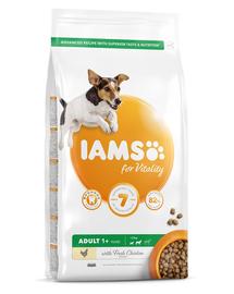 IAMS For Vitality Hrana uscata cu pui pentru caini de rasa mica si medie 5 kg