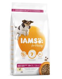 IAMS For Vitality Senior hrana uscata pentru caini seniori de talie mica si medie, cu pui, 5 kg