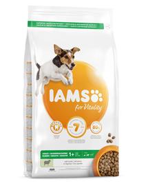 IAMS For Vitality Hrana uscata cu miel pentru cainii de talie mica si medie 3kg