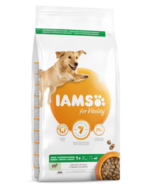 IAMS For Vitality Hrana uscata cu pui pentru cainii adulti de talie mare 3kg