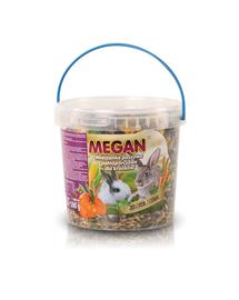 MEGAN Hrana naturala pentru iepuri 1l /500g
