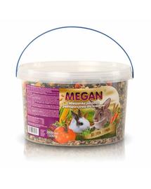 MEGAN Hrana naturala pentru un iepuri 3l /1500g