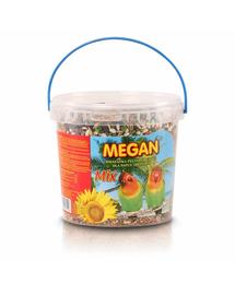 MEGAN Hrana pentru papagali medii 1l /650g