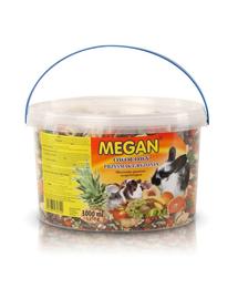 MEGAN Suplimente nutritive cu fructe pentru rozatoare 3l /1110g