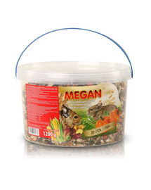 MEGAN Hrana naturala pentru veverita degus 3l /1200g