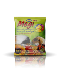 MEGAN Megi Hrana pentru un porcusori de Guineea 500g