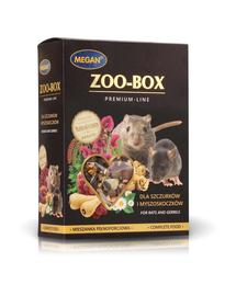 MEGAN Zoo-Box Hrana pentru sobolani și gerbili 550g
