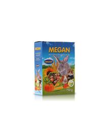 MEGAN Hrana de baza pentru rozatoare si iepuri 750g