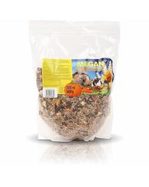 MEGAN Hrana de baza pentru rozatoare si iepuri 3L/1650g