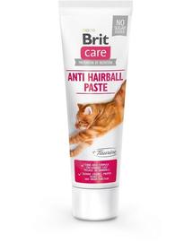 BRIT Care Cat pasta pentru pisici, contra ghemotoacelor de blana, cu taurina, 100 g