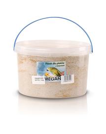 MEGAN Nisip cu minerale pentru pasari 3L/5kg
