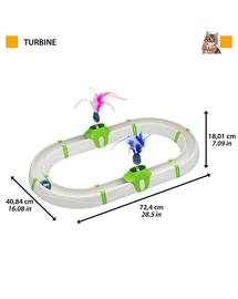 FERPLAST Turbine Circuit interactiv pentru pisici