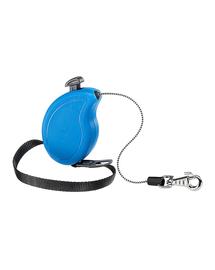 FERPLAST Flippy One Cord Mini Lesa automata pentru caini 3 m, albastru