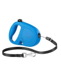 FERPLAST Flippy One Cord S Lesa automata pentru caini 4.5 m, albastru