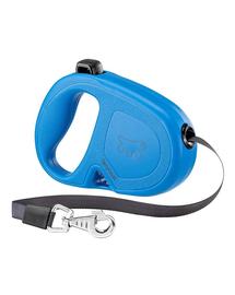 FERPLAST Flippy One Tape M Lesa automata cu banda pentru caini 5 m, albastru