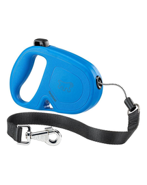 FERPLAST Flippy One Cord L Lesa automata pentru caini 5 m, albastru