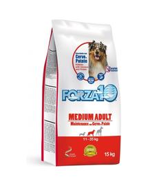 FORZA10 Medium Maintenance hrana uscata caini adulti de rase medii, cu cerb si cartofi 15 kg