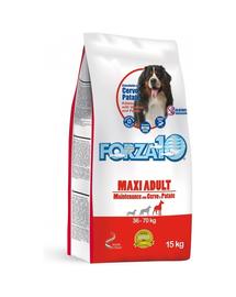 FORZA10 Maxi Maintenance hrana uscata caini adulti de rase mari, cu cerb si cartofi 15 kg