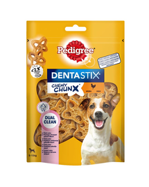PEDIGREE Dentastix Chewy ChunX Mini  recompense caini adulti de talie mica 5 x 68g