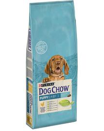 PURINA Dog Chow Puppy hrana uscata caini juniori, cu pui 14 kg