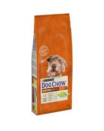 PURINA Dog Chow Mature Adult 5+ hrana uscata caini adulti cu varsta peste 5 ani, cu pui 14 kg