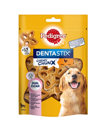 PEDIGREE Dentastix Chewy ChunX Maxi recompense caini adulti de talie medie si mare 5 x 68g