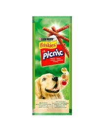 FRISKIES Picnic recompense pentru caini adulti cu carne de vita 32x42 g (160 bucati)