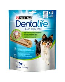 PURINA Dentalife Medium recompense dentare pentru caini adulti de rase medii 6x115g (30buc)
