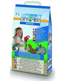 JRS Cat'S Best Universal Asternut igienic universal pentru pisici si alte animale de companie 7L (4 kg) + lopatica pentru litiera GRATIS