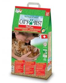 JRS Cat's Best Eco Plus Asternut natural pentru litiera 10 L + lopatica pentru litiera GRATIS