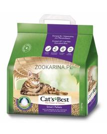 JRS Cat's Best Smart Pellets peleti lemn pentru litiera pisicilor 5L + lopatica pentru litiera GRATIS